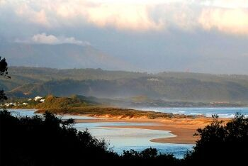 Keurboom\'s River and strand, Garden Route