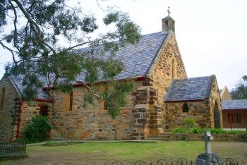 Stone church in Plettenberg Bay, Garden Route