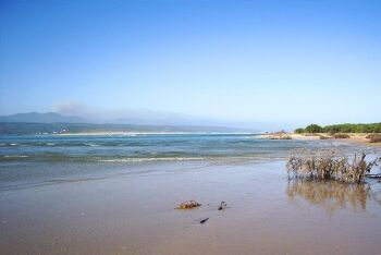View from the Keurbooms River estuary near Plettenberg Bay, Garden Route